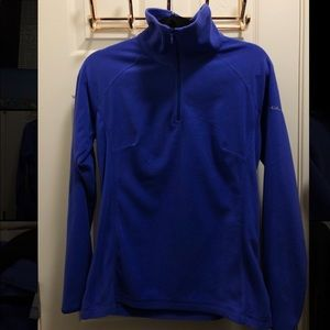 NWOT Columbia Quarter Zip Fleece